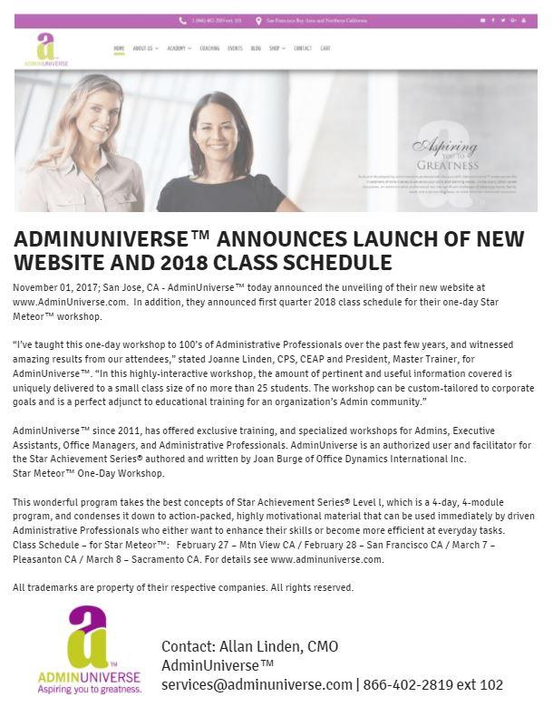 PR - Website