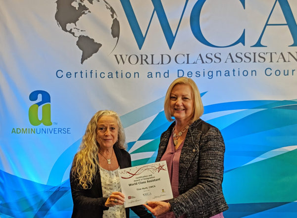 Tina Hunt, CWCA & Joanne Linden, CWCA Master Trainer