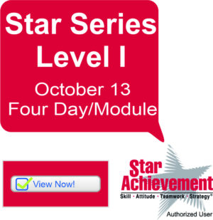 Star Achievement Series® Level l Four Module/Day Event